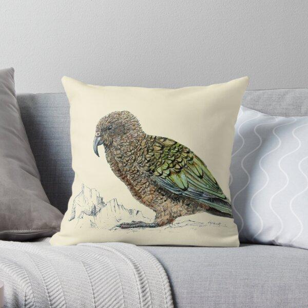 Kea, Papagei von Neuseeland Dekokissen
