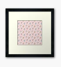 Cute colourful pony foal Framed Print