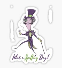 Wonky Willy 'what a spiffing day!' Sticker
