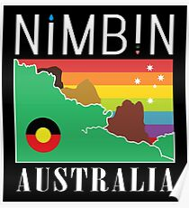 Nimbin Australia | 1980's Patch Rendition Poster