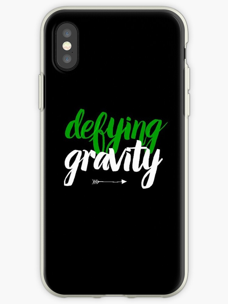 huge selection of a28d8 79761 'defying gravity...' iPhone Case by emilyconnellxo