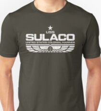 Sulaco (USS) Weiß 2 Slim Fit T-Shirt
