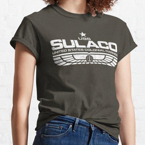 Sulaco (USS) Weiß 2 Classic T-Shirt