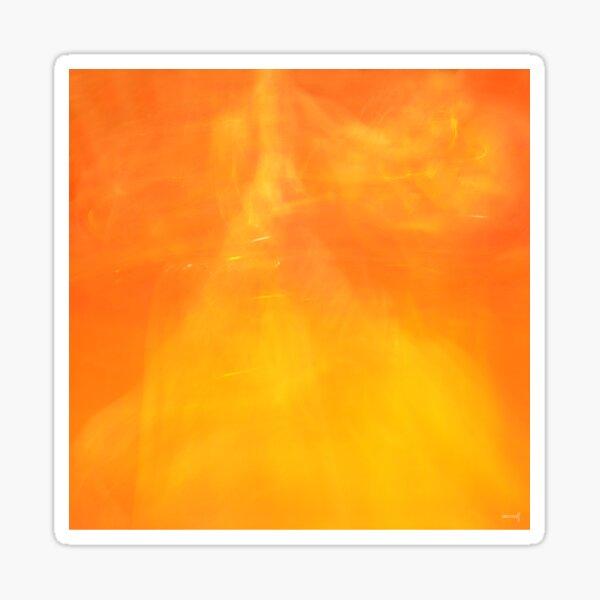 New Orange Sticker
