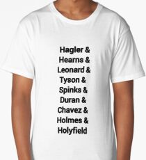 80s favourite boxers Tyson Long T-Shirt