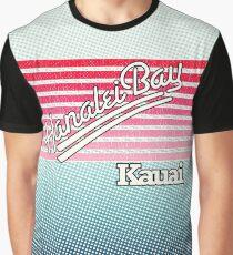 Hanalei Bay, Kauai | Surf Stripes Graphic T-Shirt