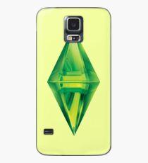 Sims Plumbob Aufkleber Hülle & Klebefolie für Samsung Galaxy