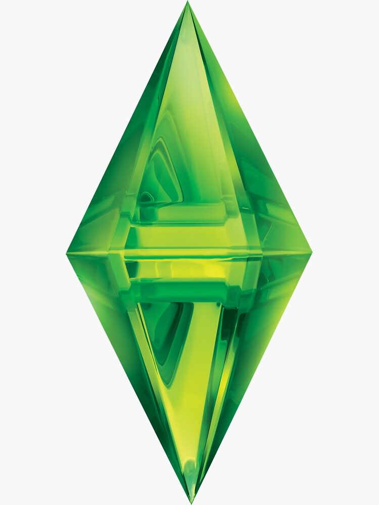 Sims Plumbob Aufkleber von simonZan