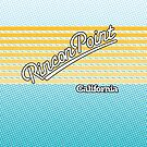 Rincon Point, California | Surf Stripes by retroready