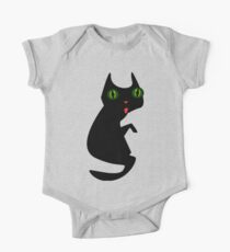 Ugly Blact Cat Kids Clothes