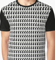 Ugly Blact Cat Graphic T-Shirt