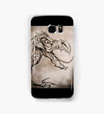Dragon with a long tongue Samsung Galaxy Case/Skin
