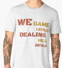 We're all in the same game t shirt Men's Premium T-Shirt