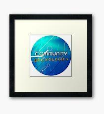 Community Tecnologica Framed Print