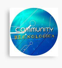 Community Tecnologica Canvas Print
