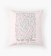 Lana Parrilla  Throw Pillow