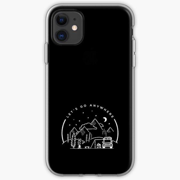 Let's Go Anywhere iPhone Soft Case