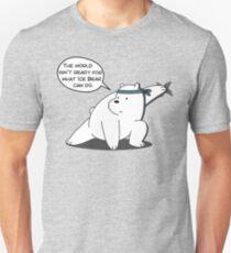 Ice Bear - The world isn't ready for what Ice Bear can do - We Bare Bears Cartoon T-Shirt