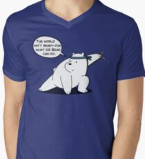 Ice Bear - The world isn't ready for what Ice Bear can do - We Bare Bears Cartoon T-Shirt