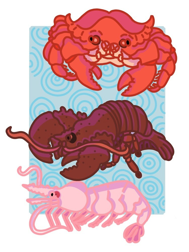 Crustaceans  by Josie Hagen