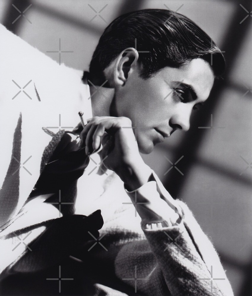 Tyrone Power cigarette by Star-search
