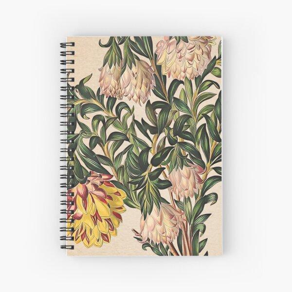 Placa vieja de Liparia sphaerica Cuaderno de espiral