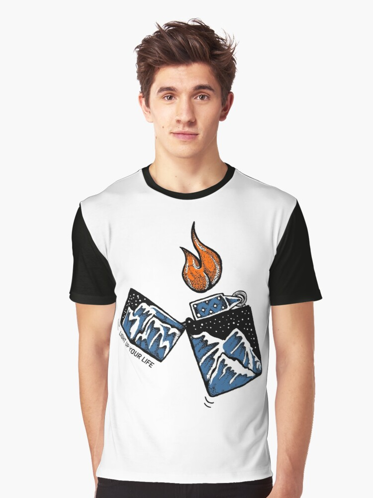 Light Up Your Life Graphic T-Shirt Front