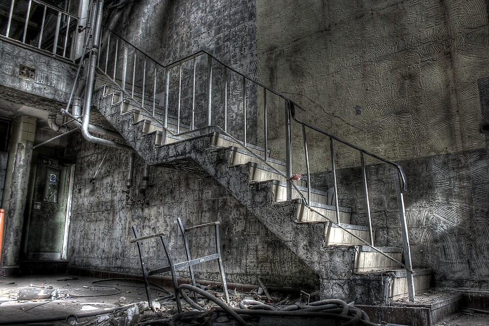 Stair up there by Richard Shepherd