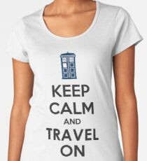 keep calm doctor Women's Premium T-Shirt
