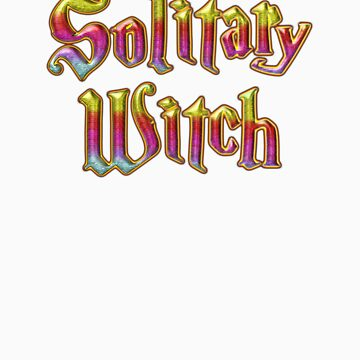Solitary Witch Wicca Magic Unisex  by Quidicane
