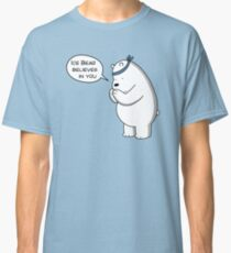 Ice Bear Believes In You - We Bare Bears Cartoon Classic T-Shirt