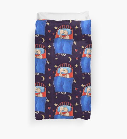 Asleep Duvet Cover