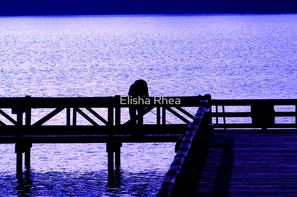 Night Pier by Elisha Rhea