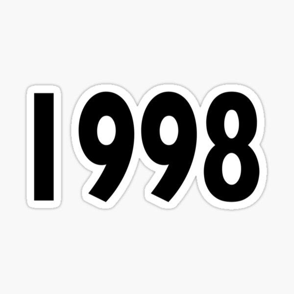 1998 Design Sticker