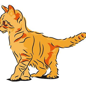 Orange Tubby by Betsyjankovic