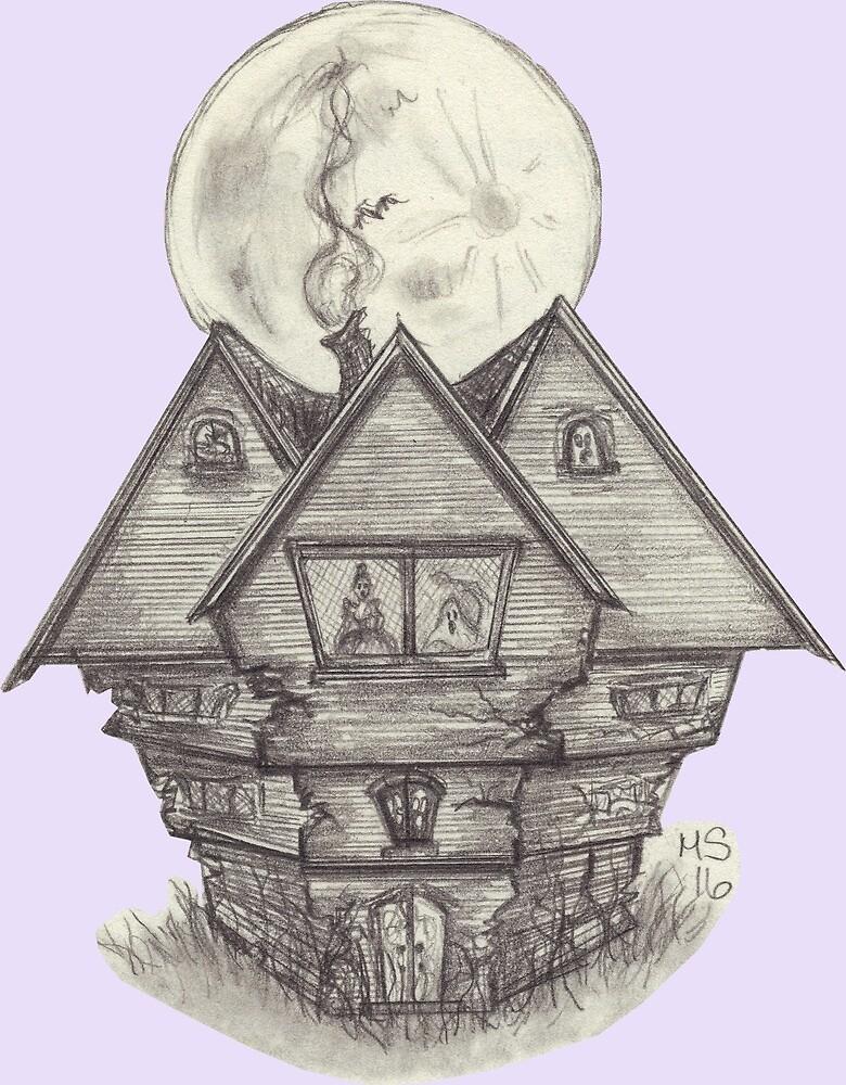 Salem Witch House by PixlPixi