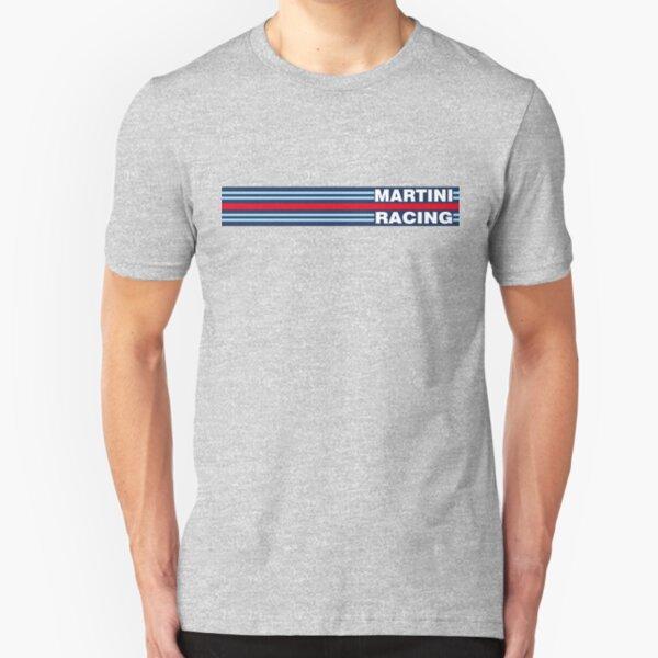 Martini Racing horizontal stripe Slim Fit T-Shirt