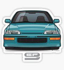 Aqua Front EF Sticker