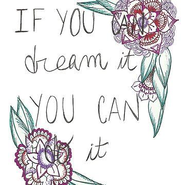 DREAM.  by Cateateate