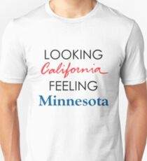 Looking California Feeling Minnesota, Outshined by Soundgarden Unisex T-Shirt