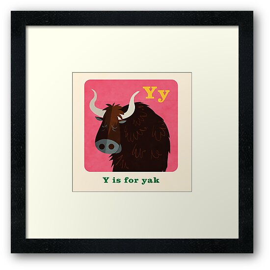 Y is for yak by daviz