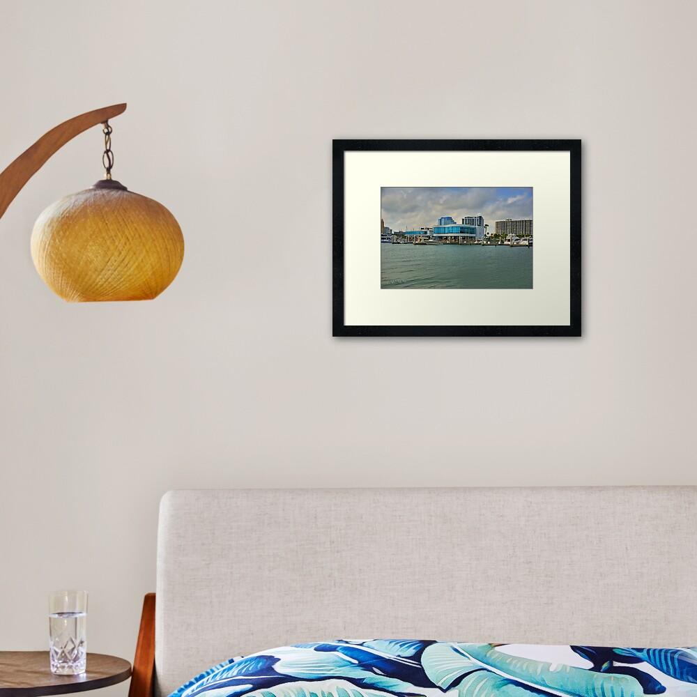 Marina Jack's Framed Art Print