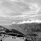Lago di Garda, view from Monte Stivo, Italy by Lenka