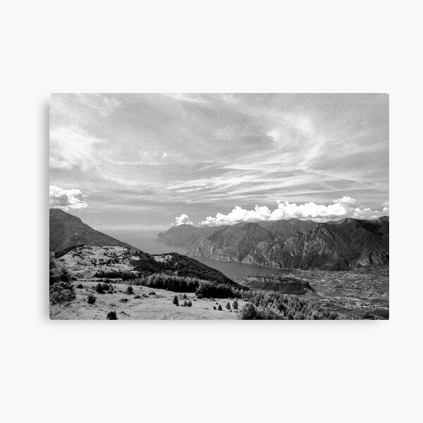 Lago di Garda, view from Monte Stivo, Italy Canvas Print