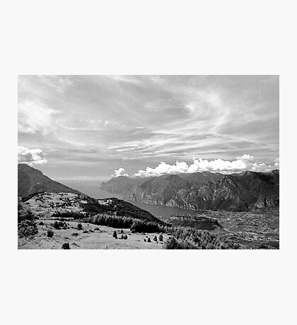 Lago di Garda, view from Monte Stivo, Italy Photographic Print
