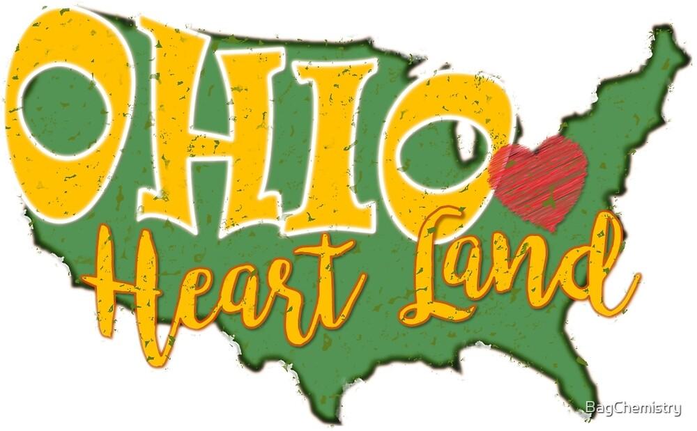 Ohio Heart Land. Ohio has heart.  by BagChemistry