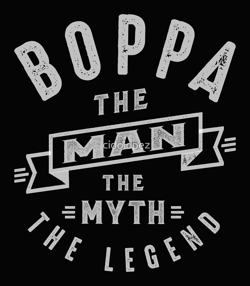 Boppa Man Myth Legend by cidolopez