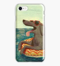 Relaxed Doggo iPhone Case/Skin