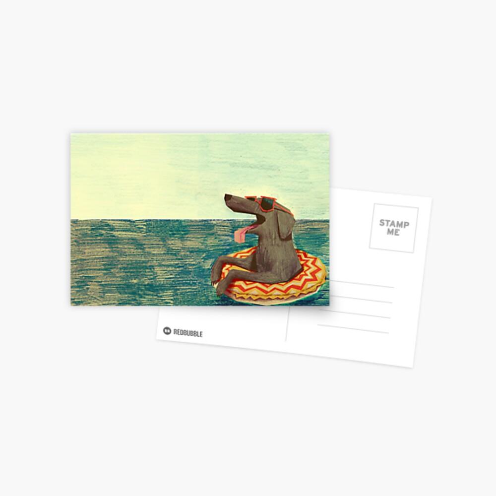 Relaxed Doggo Postcard