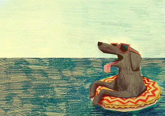 Relaxed Doggo by Carlotta Notaro